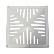 "Static Caravan Roof Light OUTER LOUVER Skylight, Eurovent,  14"" x 14"" x 4"""